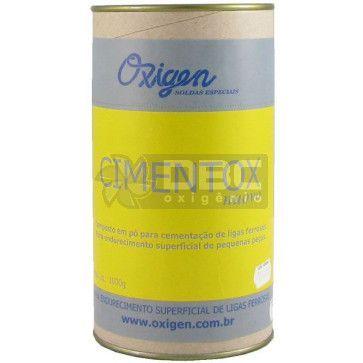Cimentox - Fluxo para ligas ferrosas - Oxigen - 1000g