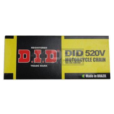 Corrente Yamaha RD350R 1998 DID520V-106L c/retentor