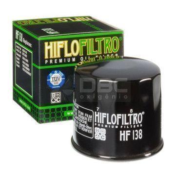 Filtro de Óleo SUZUKI BURGMAN  HIFLO HF138 (02-14)