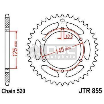 Coroa para YAMAHA XT660R JTR 855.45