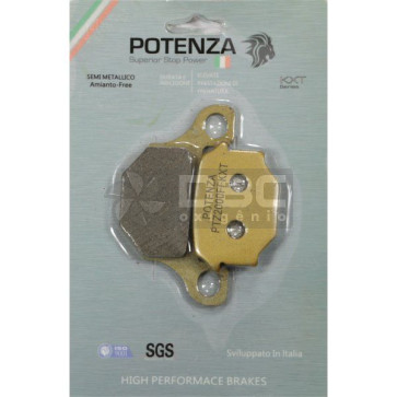 Pastilha de Freio Suzuki Intruder 125 Dianteira (Potenza PTZ093KXT)