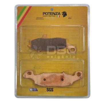 Pastilha de Freio Kawasaki VULCAN 800-1500 Dianteira (Potenza PTZ229EXT)
