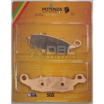 Pastilha de Freio Suzuki BANDIT 650 Dianteira (Potenza PTZ231EXT)