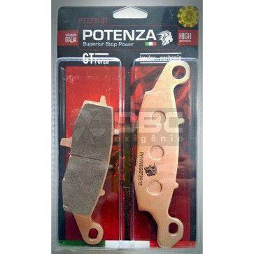 Pastilha de Freio Kawasaki ER6N Dianteira (Potenza PTZ231GT)