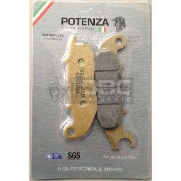 Pastilha de Freio HONDA CG150MIX Dianteira (Potenza PTZ375KXT)