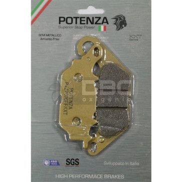 Pastilha de Freio Yamaha CRYPTON Dianteira (Potenza PTZ464KXT)