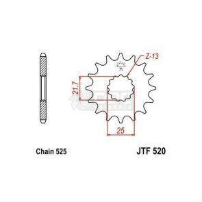 Pinhão JT Sprockets JTF 520.15