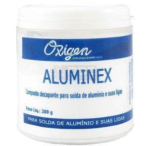 Aluminex - Fluxo para Alumínio - Oxigen - 200g