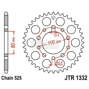 Coroa JT Sprockets JTR 1332.44