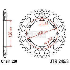 Coroa JT Sprockets JTR 245/3.46