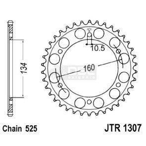 Coroa JT Sprockets JTR 1307.41