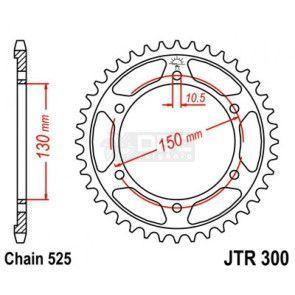 Coroa para Honda TRANSALP 700 JTR 300.47