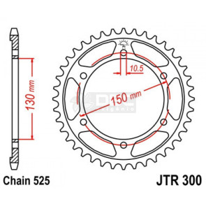Coroa JT Sprockets JTR 300.47