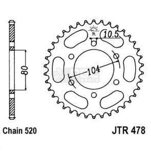Coroa JT Sprockets JTR 478.46