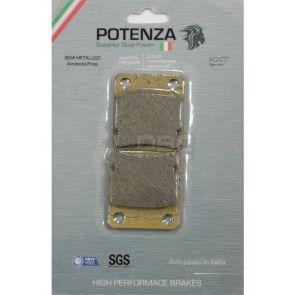 Pastilha de Freio Honda CG Titan 150es Dianteira (Potenza PTZ054KXT)