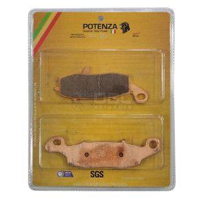 Pastilha de Freio Kawasaki ER6-N Dianteira (Potenza PTZ229EXT)