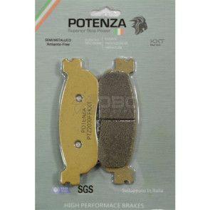 Pastilha de Freio Yamaha Neo Dianteira (Potenza PTZ275KXT)