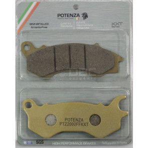 Pastilha de Freio HONDA PCX 150 Dianteira (Potenza PTZ603KXT)