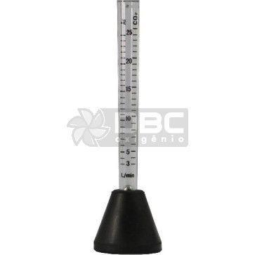 Fluxômetro/Bibímetro Para Gás Para Tocha MIG/TIG- DBC Plus