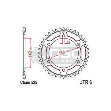 Coroa JT Sprockets JTR 6.47