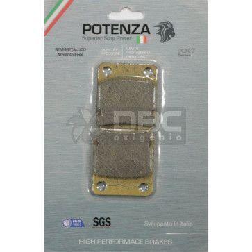 Pastilha de Freio Honda CBX150 Aero Dianteira (Potenza PTZ054KXT)