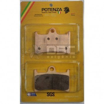 Pastilha de Freio Honda CBR600RR Dianteira (Potenza  PTZ221EXT)