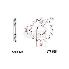 Pinhão JT Sprockets JTF 565.15
