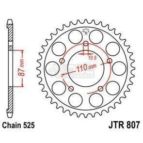 Coroa JT Sprockets JTR 807.48