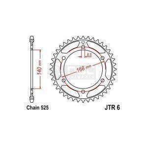 Coroa JT Sprockets JTR 6.42