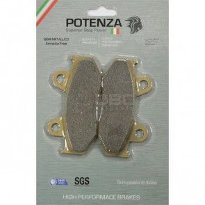 Pastilha de Freio Honda Lead 110 Dianteira (Potenza PTZ323KXT)